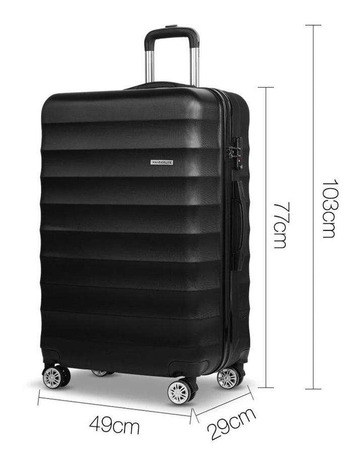 3 Piece Luggage Trolley Set image 2