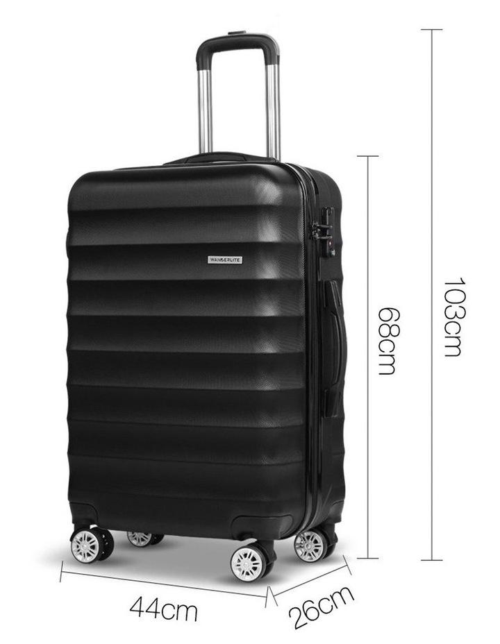 3 Piece Luggage Trolley Set image 4