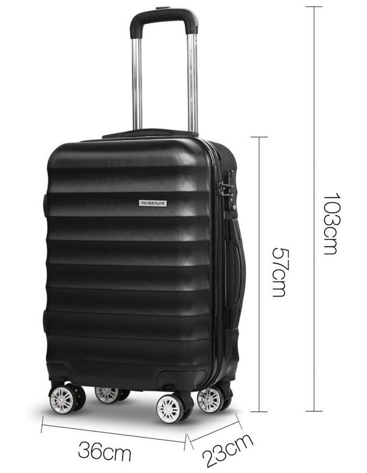 3 Piece Luggage Trolley Set image 5