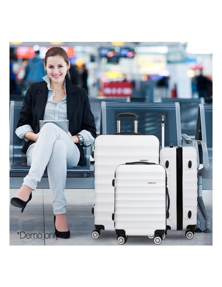 3 Piece Luggage Trolley Set image 3