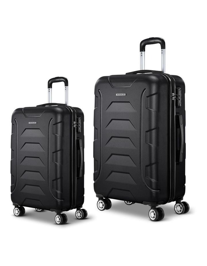 2PCS Carry On Luggage Sets image 1
