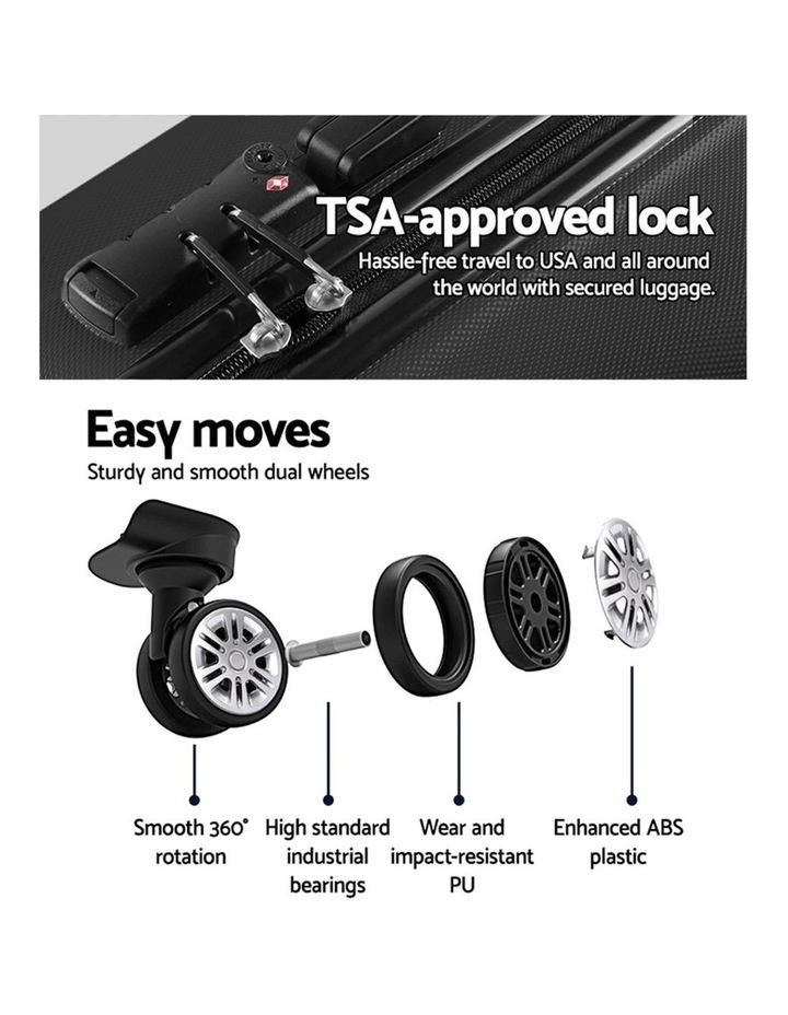 2PCS Carry On Luggage Sets image 5