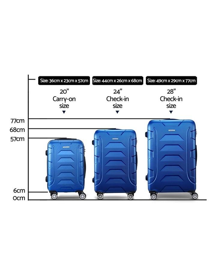 3PCS Carry On Luggage Sets image 2