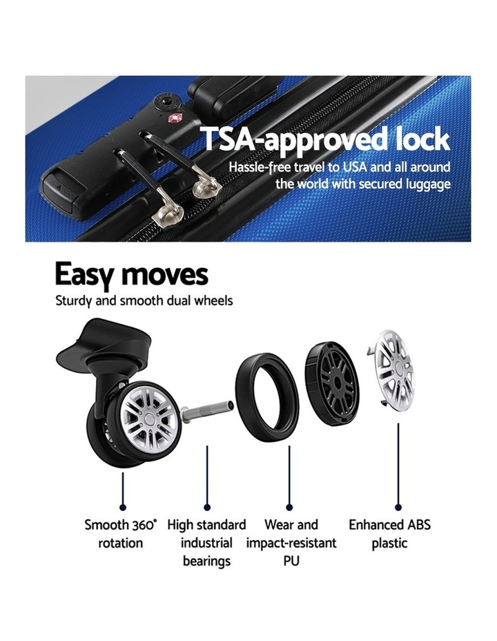 3PCS Carry On Luggage Sets image 5