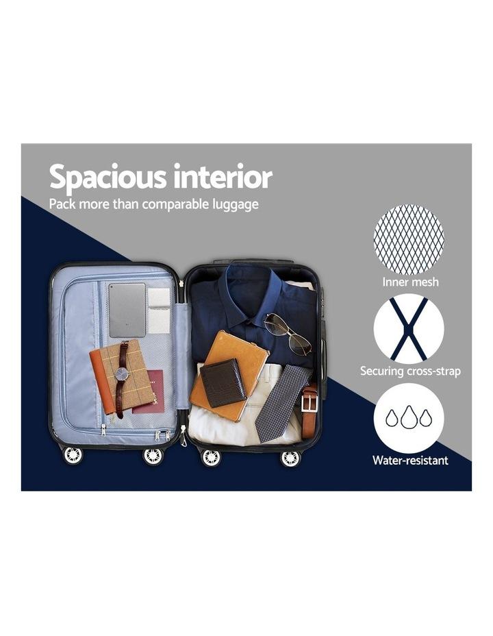 3PCS Carry On Luggage Sets image 6