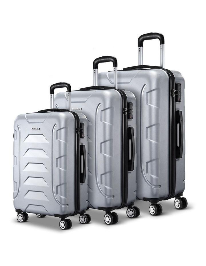 3PCS Carry On Luggage Sets image 1