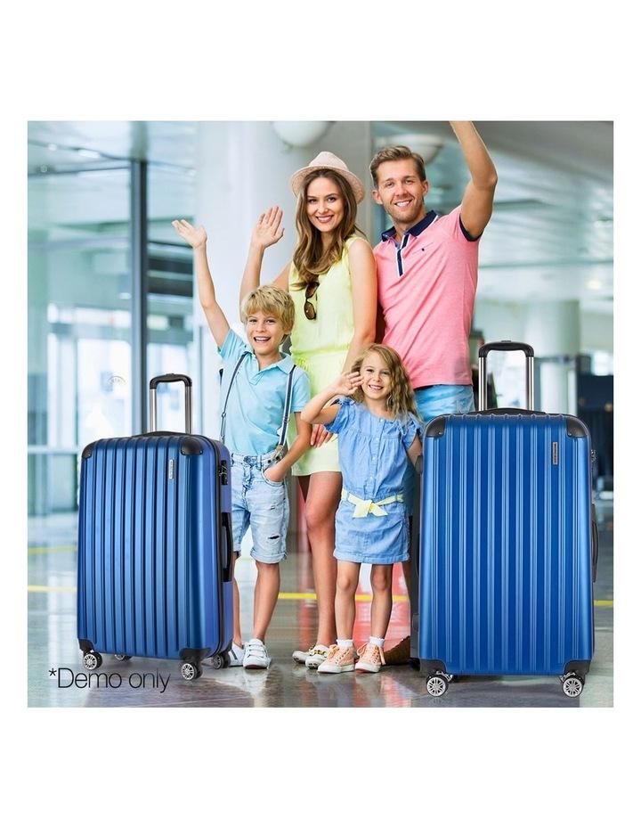 2 Piece Luggage Trolley Set image 3