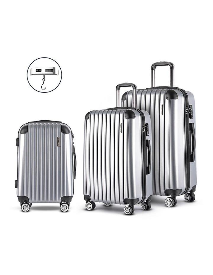 3-piece Luggage Trolley Set image 1