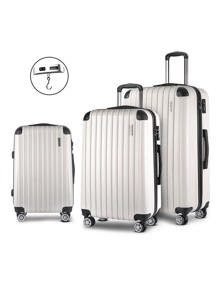 3-piece Luggage Trolley Set image 1