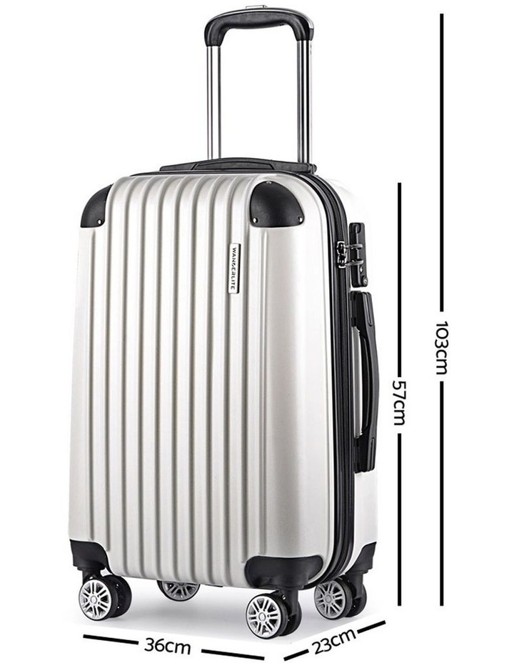 3-piece Luggage Trolley Set image 2