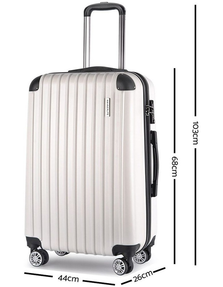 3-piece Luggage Trolley Set image 4