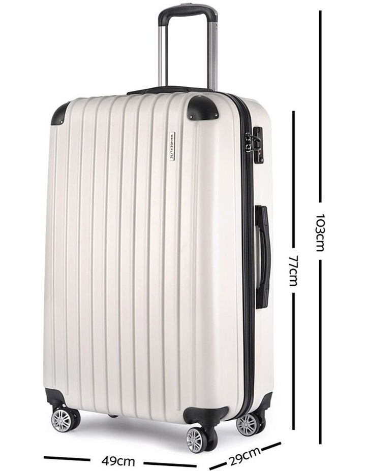 3-piece Luggage Trolley Set image 5
