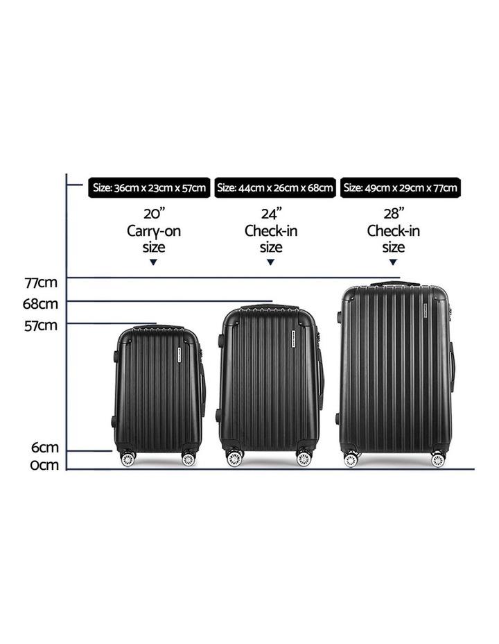3pc Luggage Sets image 2