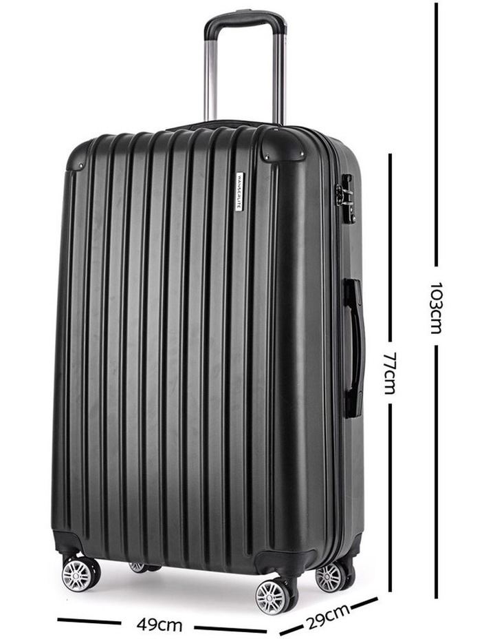 3 Piece Luggage Suitcase Trolley image 4