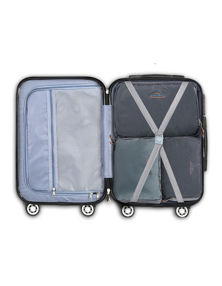 3 Piece Luggage Suitcase Trolley image 6