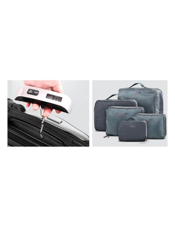3 Piece Luggage Suitcase Trolley image 7