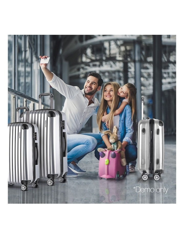 3 Piece Luggage Suitcase Trolley image 3