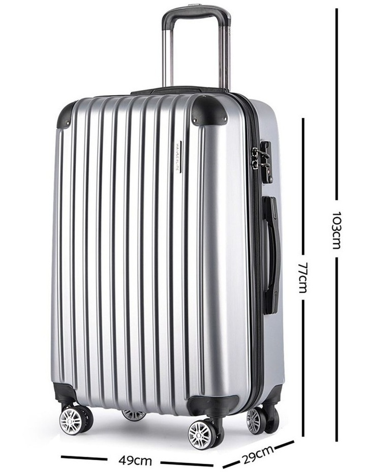 3 Piece Luggage Suitcase Trolley image 5