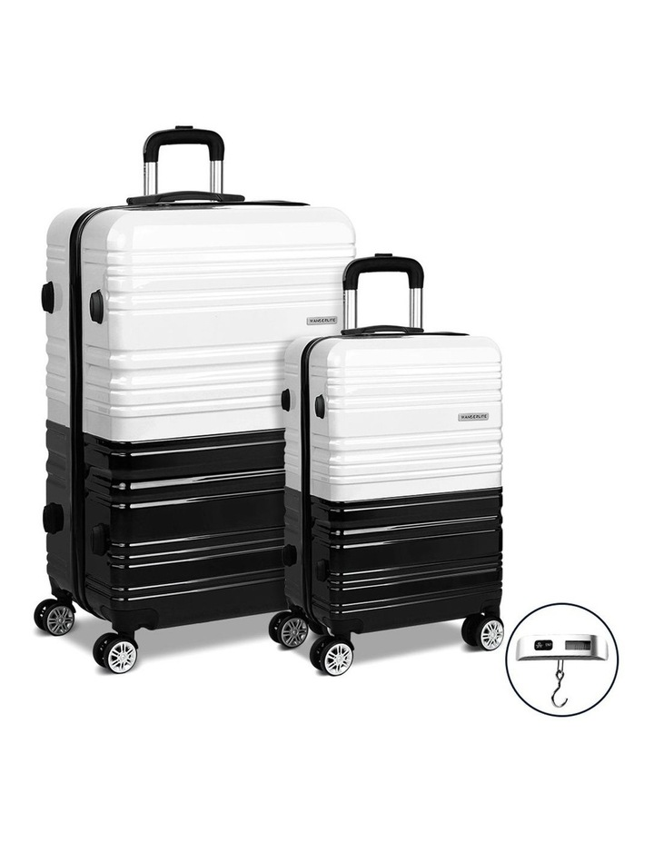2 Piece Luggage Trolley Set image 1
