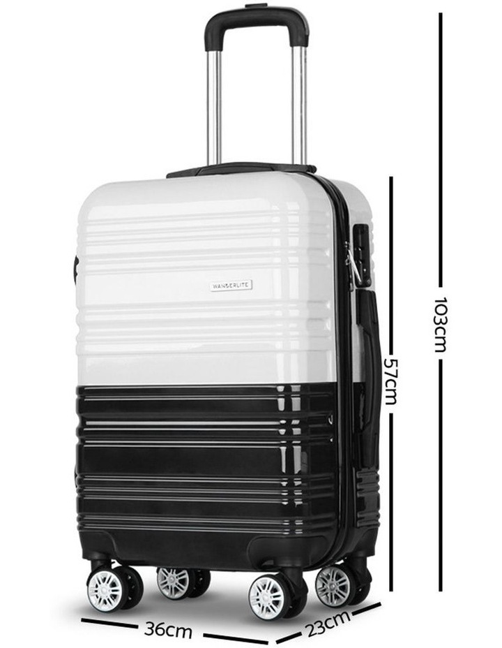 2 Piece Luggage Trolley Set image 2