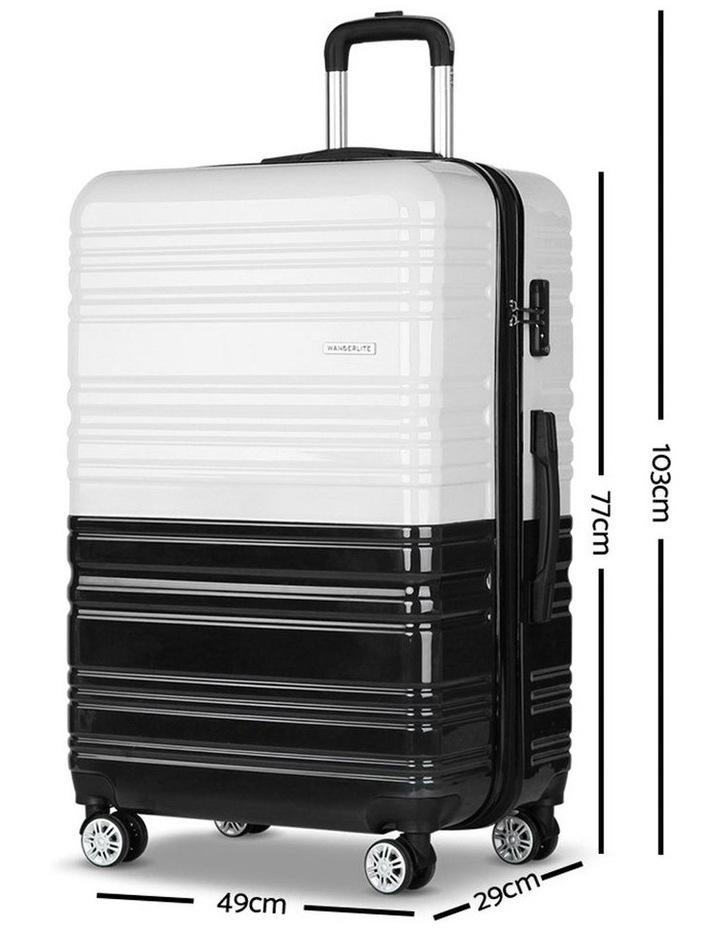 2 Piece Luggage Trolley Set image 4
