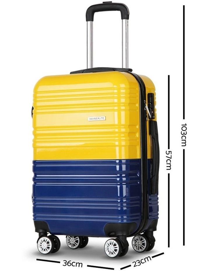 2 Piece Lightweight Hard Suit Case image 2