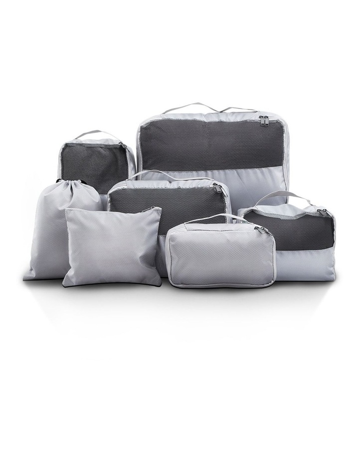 7PCS Grey Luggage image 1