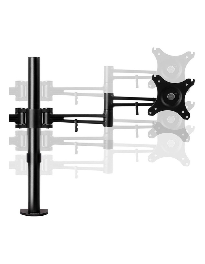 2 Arms Adjustable Monitor Screen Holder image 4