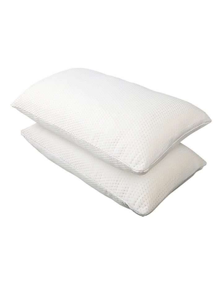 Set of 2 Visco Elastic Memory Foam Pillows image 1