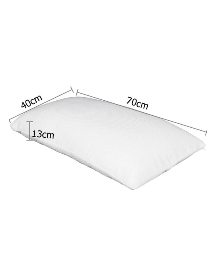 Set of 2 Visco Elastic Memory Foam Pillows image 2
