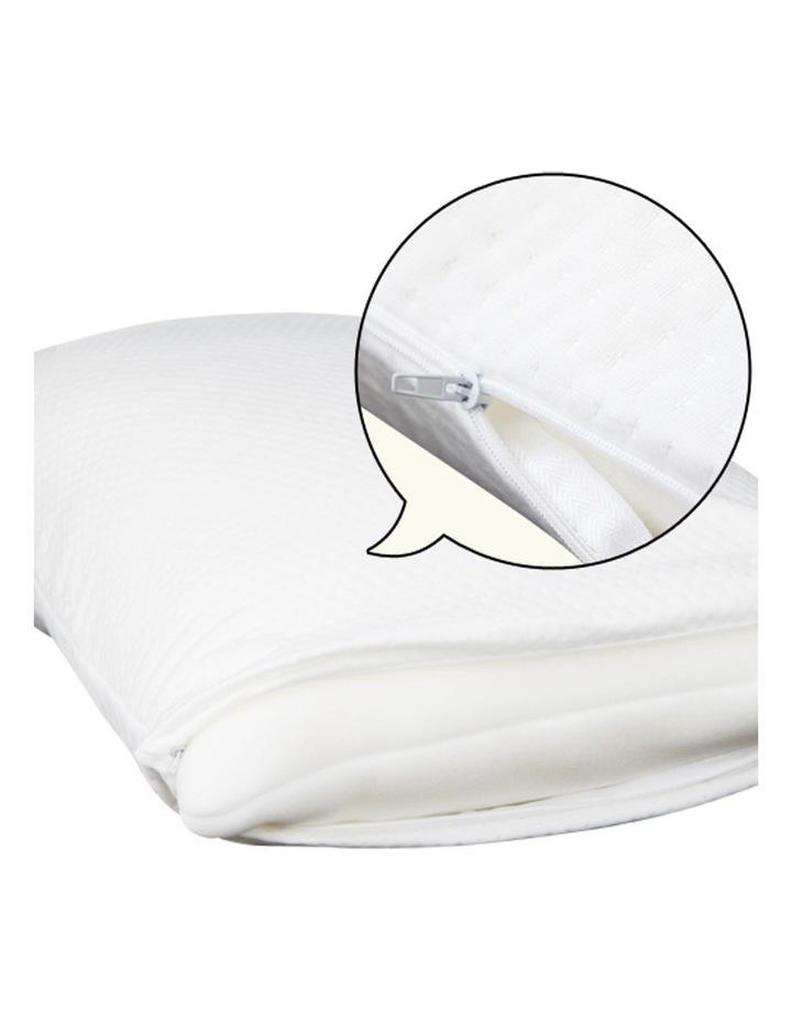 Set of 2 Visco Elastic Memory Foam Pillows image 4