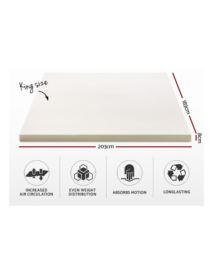 King Size Memory Foam Mattress Topper image 2