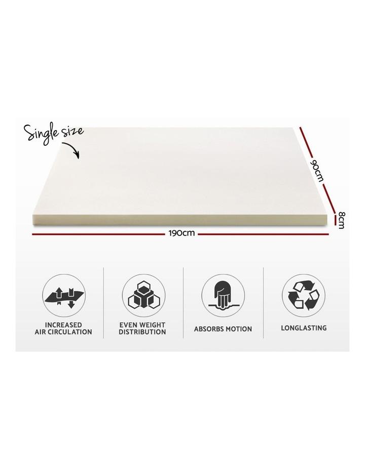 Single Size Memory Foam Mattress Topper image 2