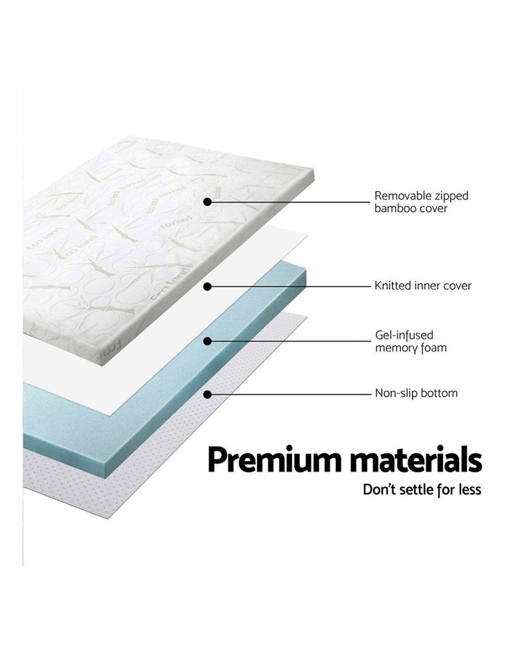 COOL GEL Memory Foam Mattress Topper image 5