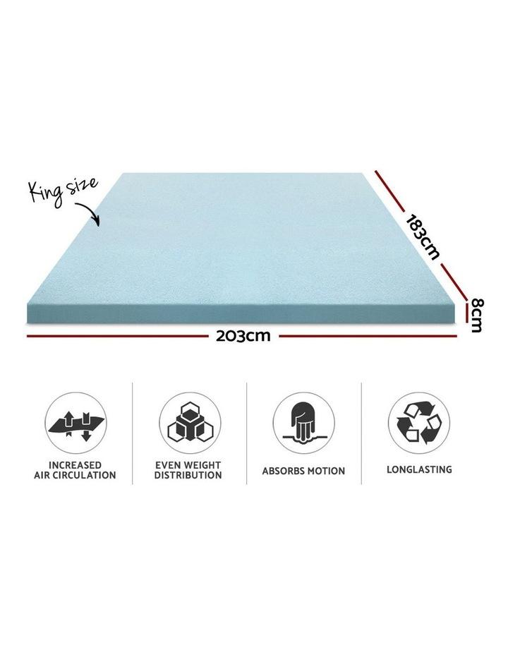 COOL GEL Memory Foam Mattress Topper image 2