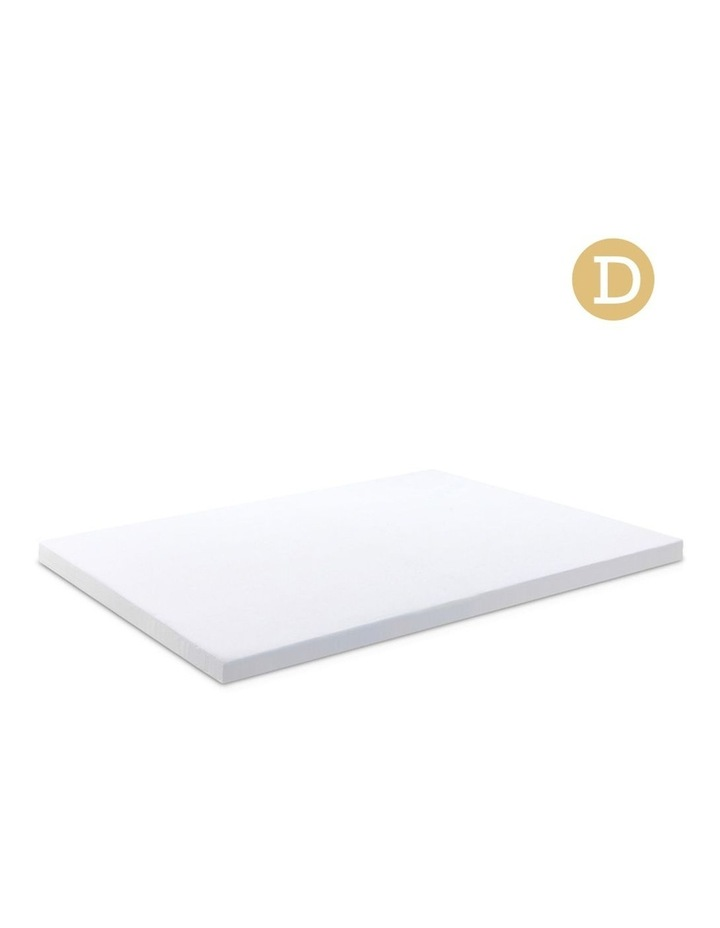 Double Size Dual Layer Cool Gel Memory Foam Topper image 1