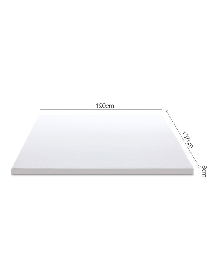 Double Size Dual Layer Cool Gel Memory Foam Topper image 2