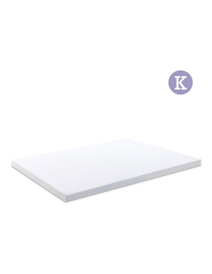 King Size Dual Layer Cool Gel Memory Foam image 1
