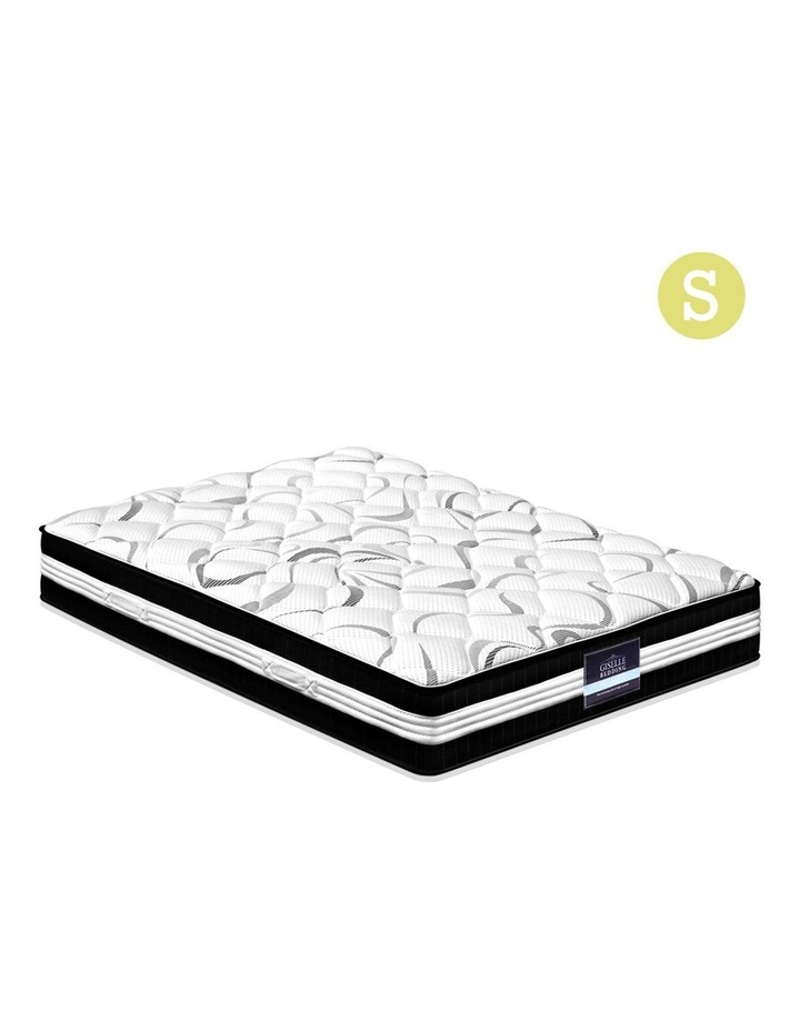 Single Size Euro Spring Foam Mattress image 1
