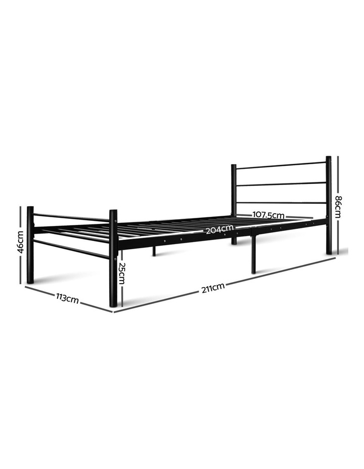 Metal King Single Bed Frame image 2