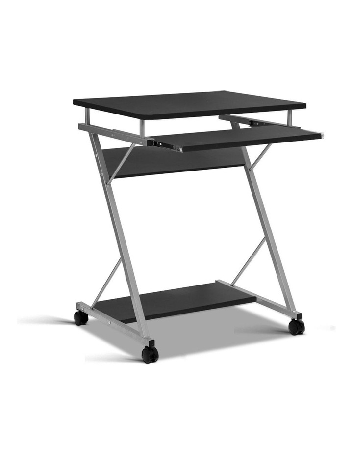 Metal Pull Out Table Desk image 1