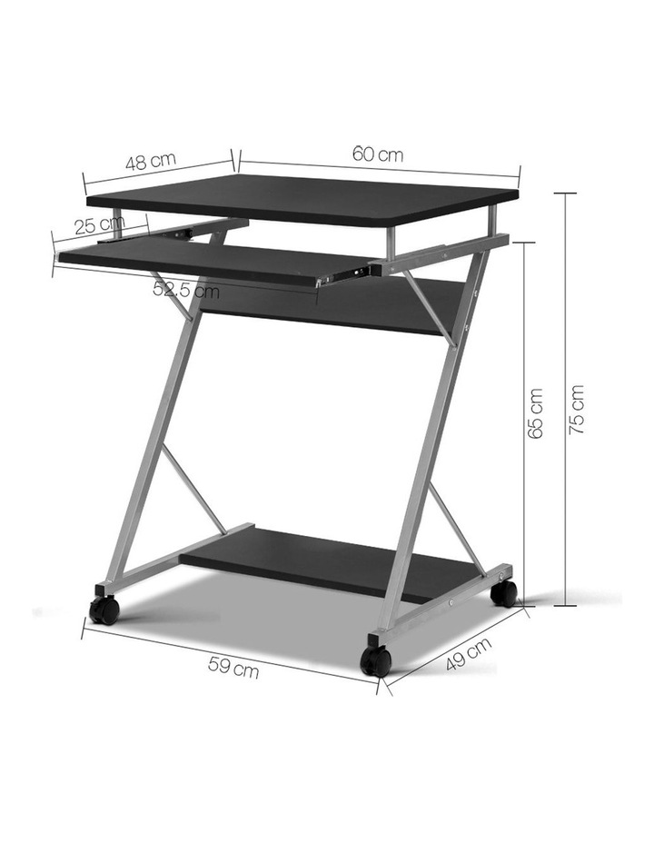 Metal Pull Out Table Desk image 2