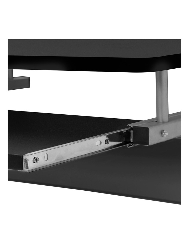 Metal Pull Out Table Desk image 6