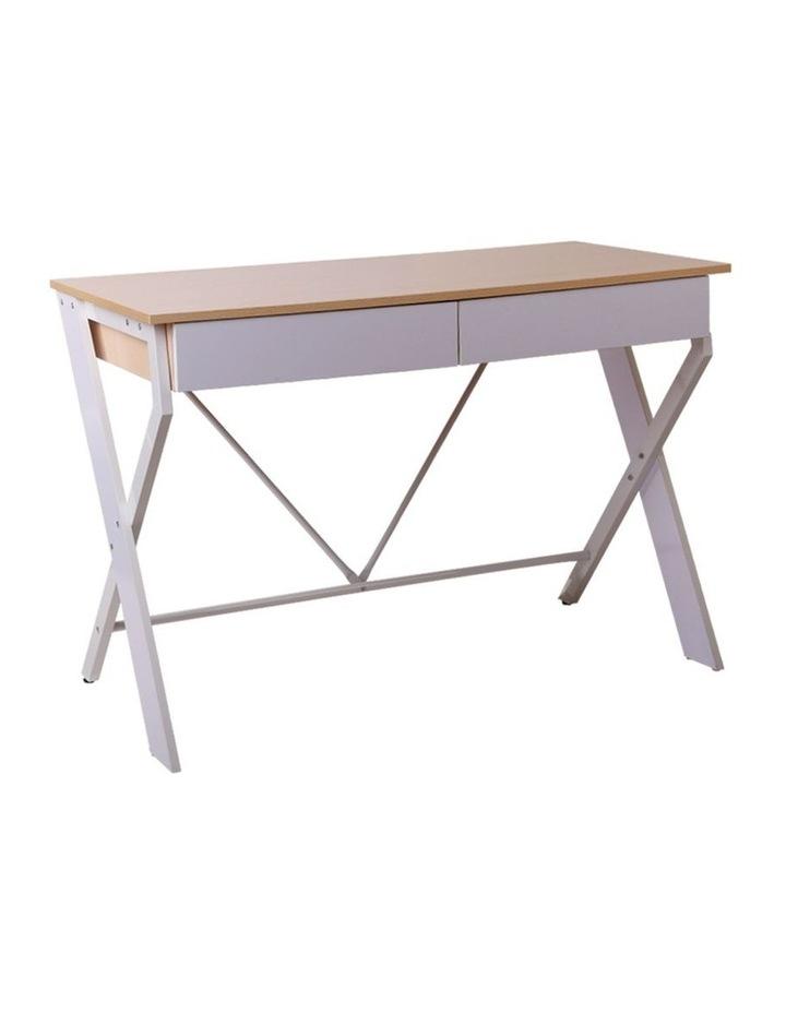 Metal Desk with Drawer image 1
