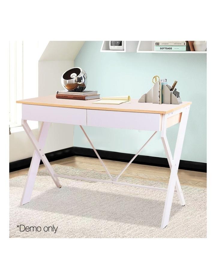 Metal Desk with Drawer image 3