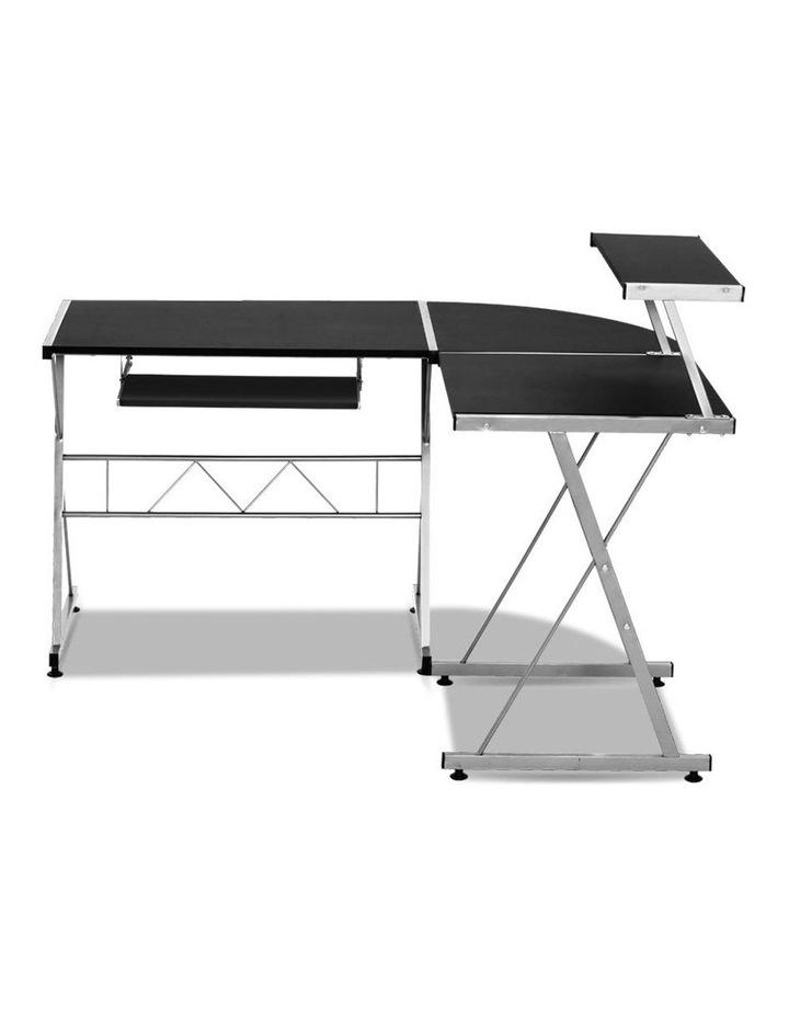Corner Metal Pull Out Table Desk image 2