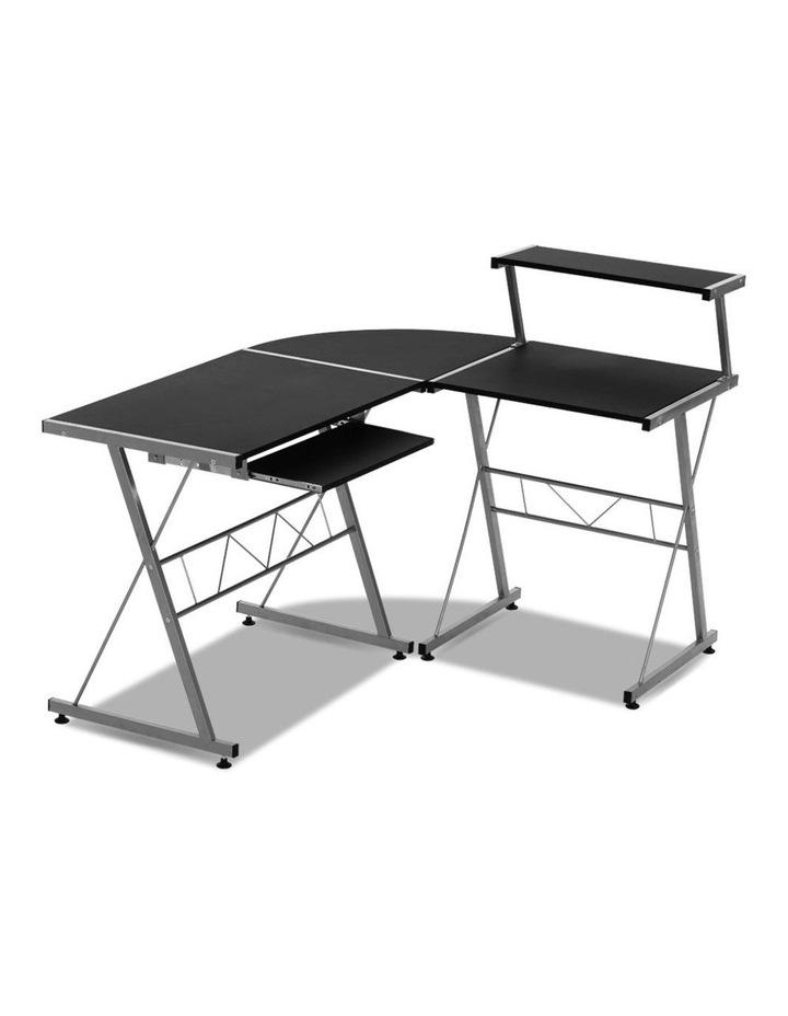 Corner Metal Pull Out Table Desk image 3