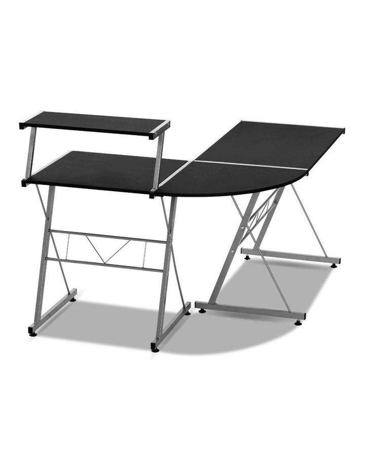 Corner Metal Pull Out Table Desk image 4