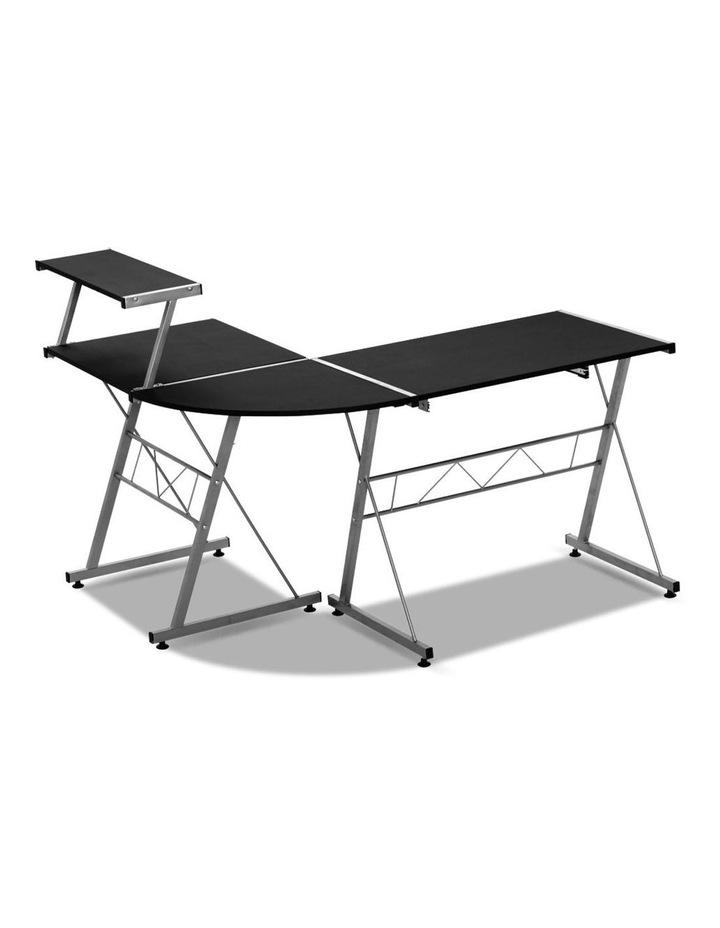 Corner Metal Pull Out Table Desk image 5