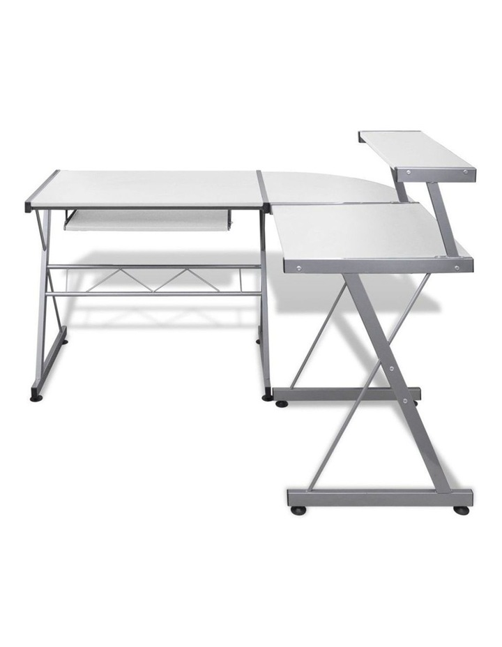 Corner Metal Pull Out Table Desk image 3